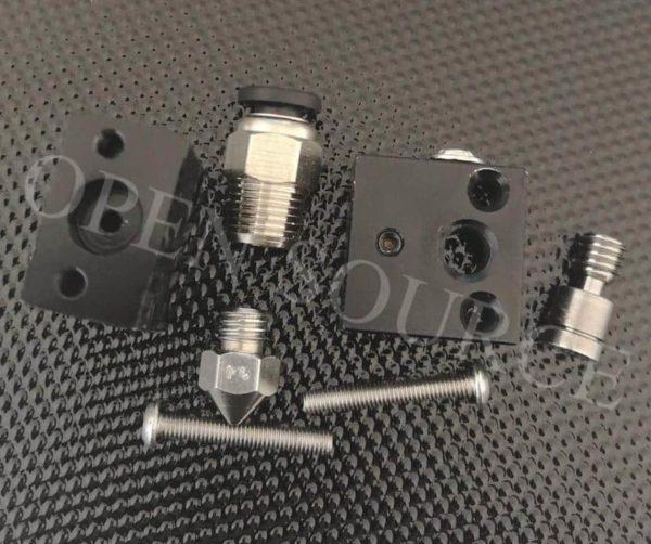 אקסטרודר ראש הדפסה לטמפרטורה גבוהה אול מטאל -hotend all metal -4260
