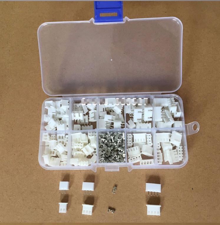 מארז מחברים ופינים - סט הכולל 60 יחידות של פינים מסוגים שונים-4285