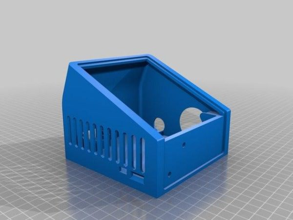 קופסא לבקר ולמסך עבור אנדר 3 - קובץ STL להורדה והדפסה בתלת מימד-4221