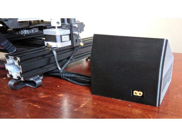 קופסא לבקר ולמסך עבור אנדר 3 - קובץ STL להורדה והדפסה בתלת מימד-4222