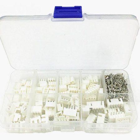 מארז מחברים ופינים - סט הכולל 60 יחידות של פינים מסוגים שונים-0