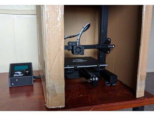 קופסא לבקר ולמסך עבור אנדר 3 - קובץ STL להורדה והדפסה בתלת מימד-4219