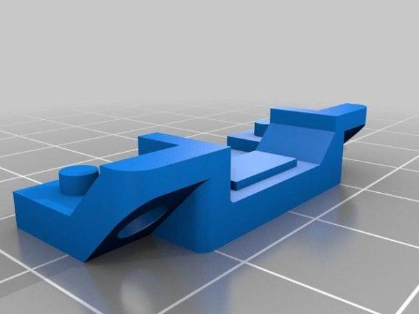 קופסא לבקר ולמסך עבור אנדר 3 - קובץ STL להורדה והדפסה בתלת מימד-4223