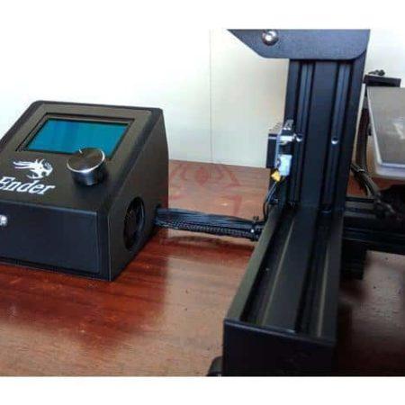 קופסא לבקר ולמסך עבור אנדר 3 - קובץ STL להורדה והדפסה בתלת מימד-0