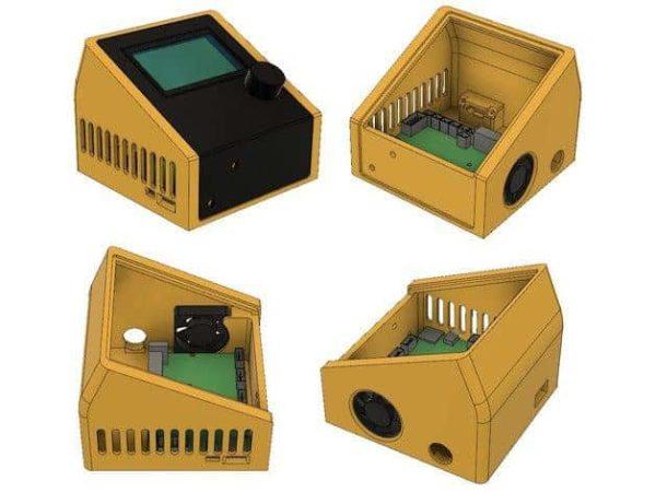 קופסא לבקר ולמסך עבור אנדר 3 - קובץ STL להורדה והדפסה בתלת מימד-4224