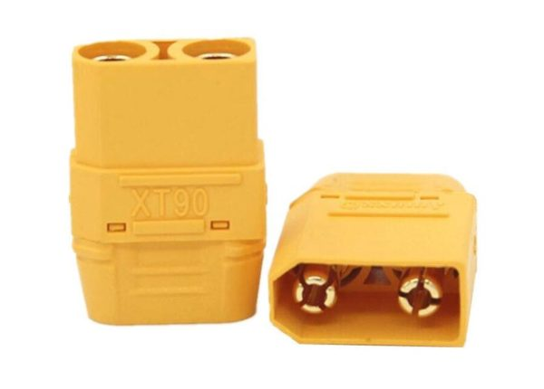 מחבר זכר-נקבה 90-H עם כיסוי במיוחד עבור סוללת RC Lipo-4362