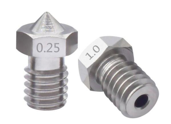 דיזה - נוזל V6 מנירוסטה במספר גדלים הברגה M6-4412
