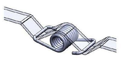 2 יח' מותחן רצועה 6ממ - קפיץ חזק למתיחה רצועת ,תזמון GT2-4327