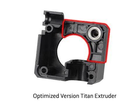 אקסטרודר טיטאן עשוי מתכת מתאים במיוחד לפילמנט גמיש Titan Extruder - Tpu - ומתחבר ישירות לוולקנו V6 להדפסה בטמפרטורה גבוהה-0