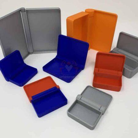 קופסאות שונות עם מכסה עם ציר מובנה -0
