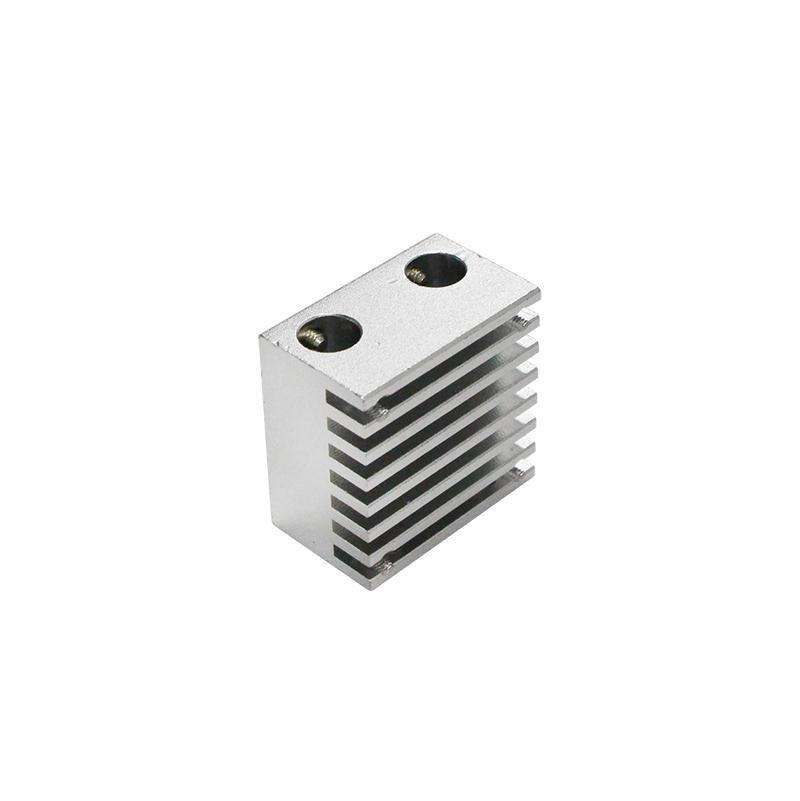 V6 heat sink for Chimera multi extruder aluminium alloy dual head cooling fin 30*30*18mm-4551