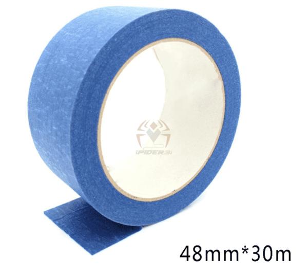 סרט דבק כחול 30 מטר למשטח הדפסת למדפסת תלת מימד-0