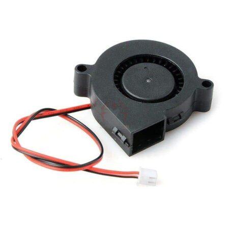 בלאוור מפוח 5015 Blower שקט 24V/12V סופר שקט בעל מאוורר טורבו למדפסת תלת מימד-0