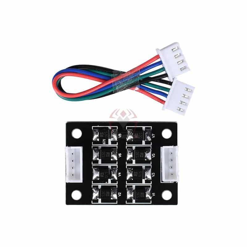 סמוטהר Smoother מפחית רעשים - מודול למנוע צעד של מדפסת תלת מימד-4834