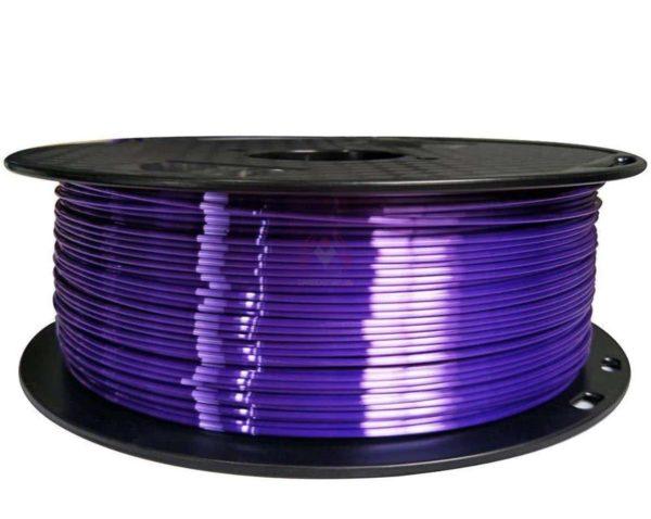 חומר להדפסה PLA משי סילק סגול מטאלי