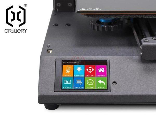 Artillery GENIUS 3D printer מדפסת תלת מימד ביתית בית ספר