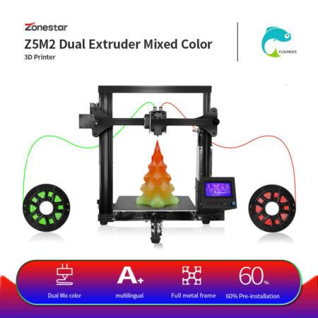 מדפסת תלת מימד 2 צבעים