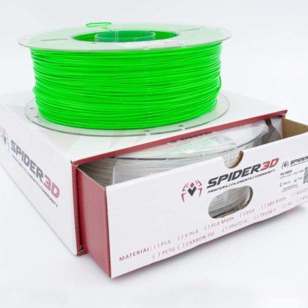 סופר PLA ירוק הינו PLA מחוזק במיוחד - גרסא מתקדמת של +PLA