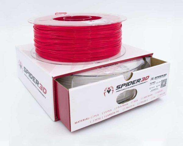 סופר PLA אדום הינו PLA מחוזק במיוחד - גרסא מתקדמת של +PLA