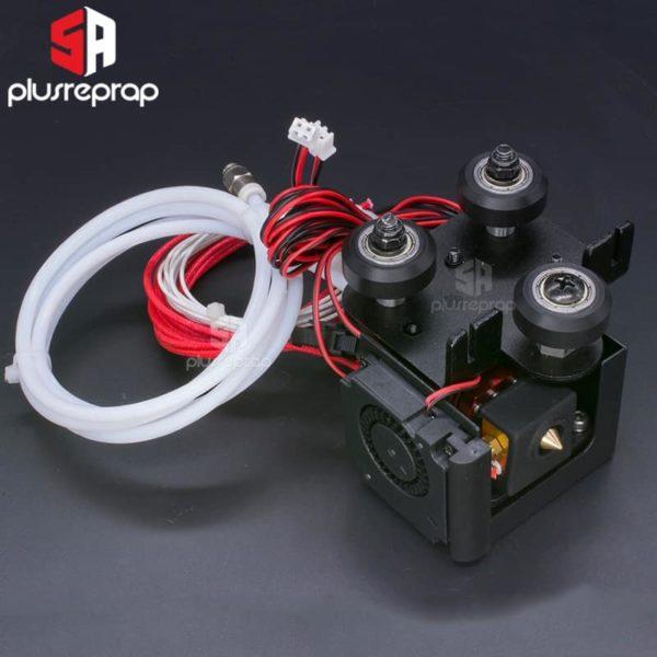 ראש הדפסה סט מלא הכולל גלגלים, מאווררים, חשמל וצינורית 12V או 24V