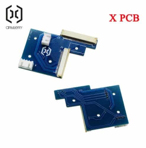 לוח PCB לציר X ארטילרי מקורי למדפסת ג'יניוס