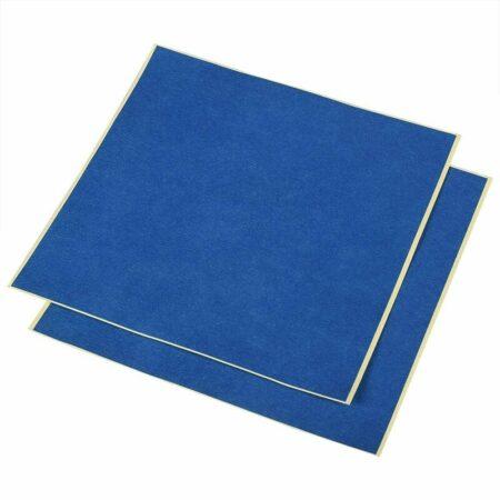 מדבקה כחולה למשטח הדפסה