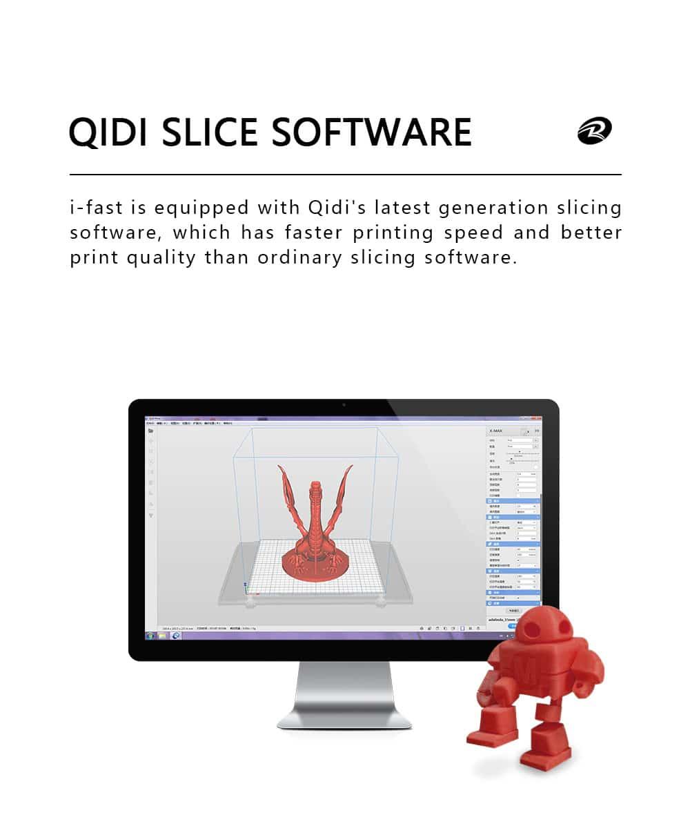 תוכנה להדפסה qidi ifast