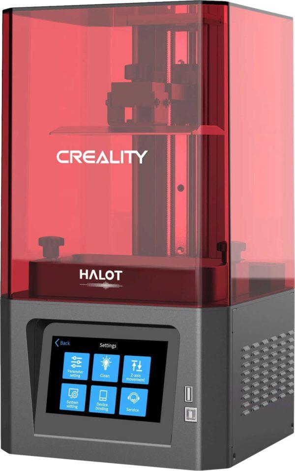 Creality Halot-One CL-60 erhtkh קריאליטי הלוט וואן סי אל 60 מדפסת שרף