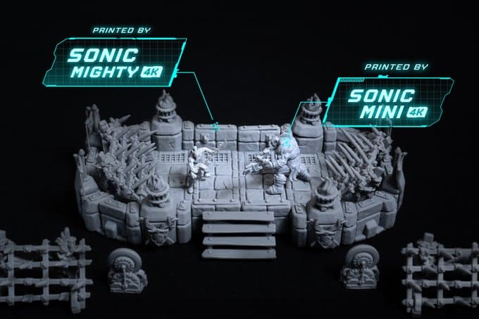 Phrozen Sonic Mighty 4K Resin 3D Printer מדפסת שרף תלת מימד